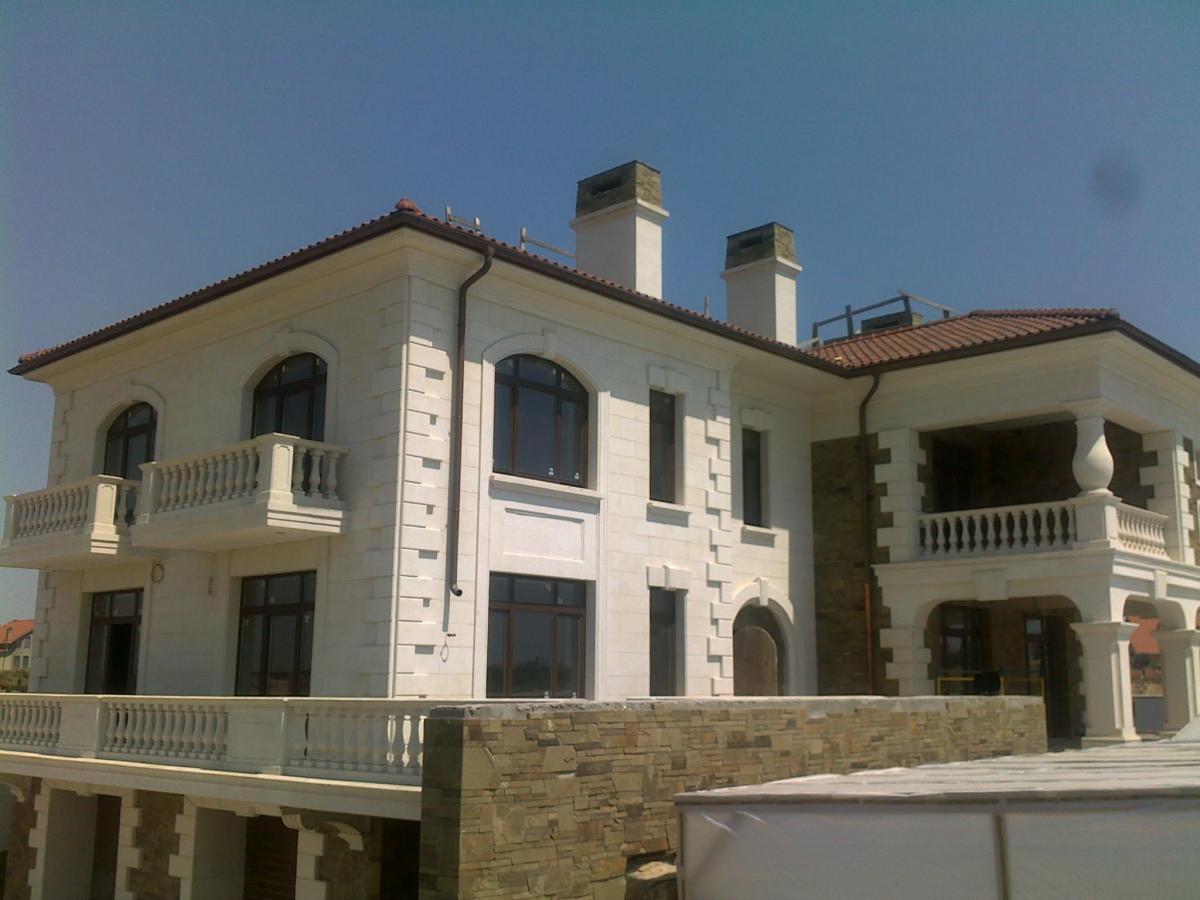 Отделки фасадов домов из бруса