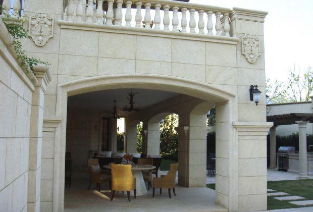 дом из дагестанского камня фото